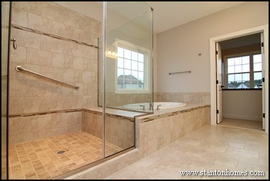 Master shower ideas