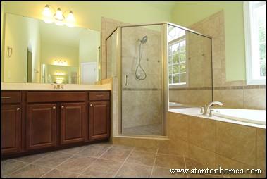 Master shower ideas