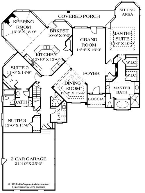 Custom Staircase Photos   North Carolina open concept floor plans