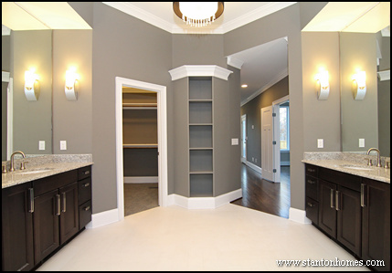 master bath lighting layout. master bath lighting trends layout home building tips - stanton homes