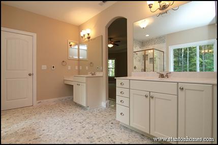 Best master bath layouts | Dual vanity design