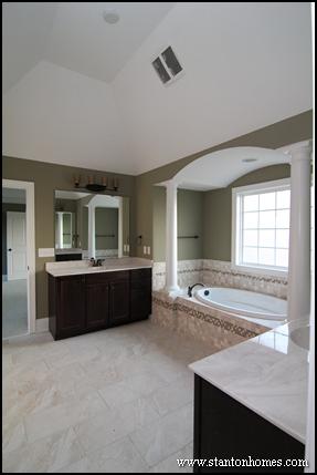 Best master bath layouts | Dual vanity