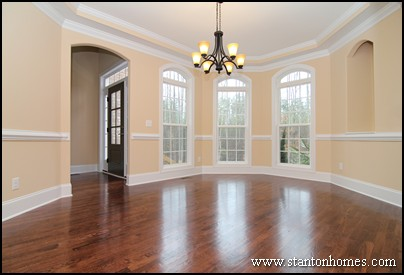 Raleigh New Homes | Trey Ceilings