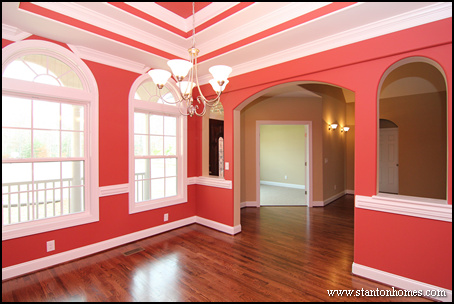 Formal Dining Rooms   Trey Ceiling