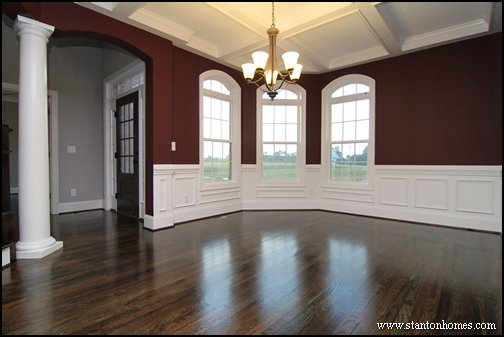 Formal Dining Room | Red Formal Dining
