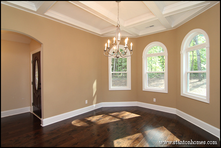 Dining Room Coffer Ceiling