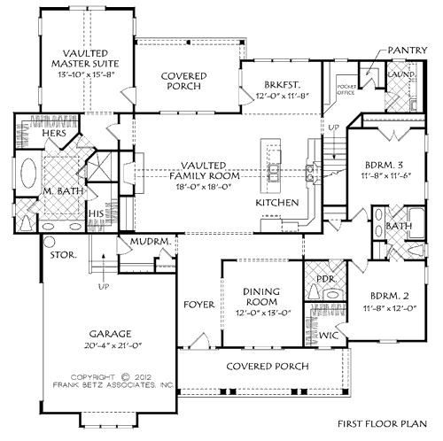 Home Office Planning. Pocket Office House Plans | Raleigh New Homes ...