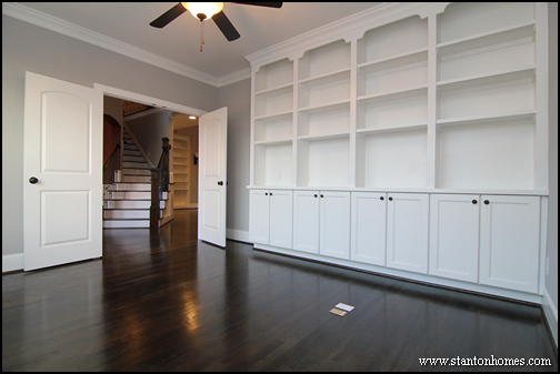 Custom Built In Bookcases | Built In Storage Ideas