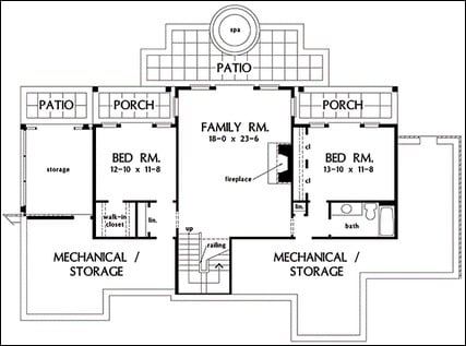 Kingston 434 besides Kingston 434 also One Story Floor Plans With Basements also Traditional Two Story 8934ah as well Barnstable 325. on formal living rooms with fireplace