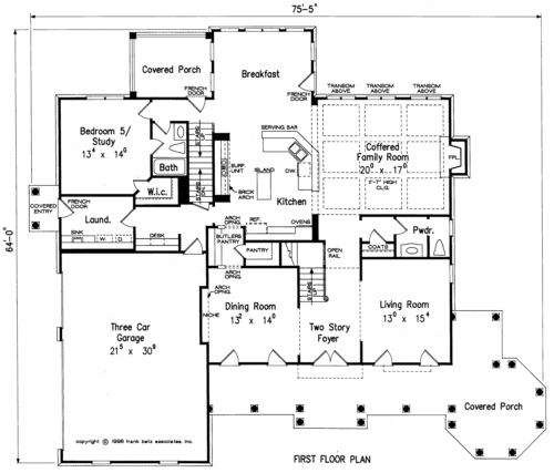 Pocket Office House Plans | Best Floor Plans with Pocket Offices