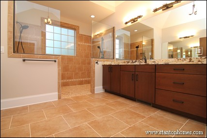 Master Bath New Home Trends | Chatham County Home Builders