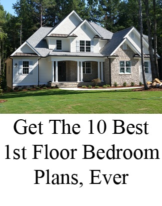 Best First Floor Bedroom Floor Plans