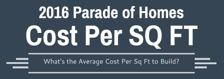 Cost Per Sq Ft | Chapel Hill Area New Homes