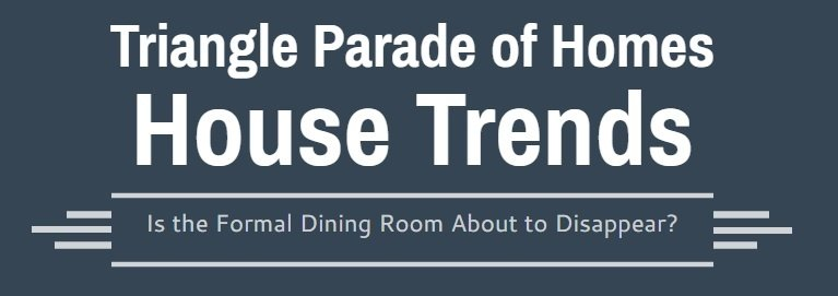 Formal Dining Room Plans | 2016 Triangle Parade of Homes Trends