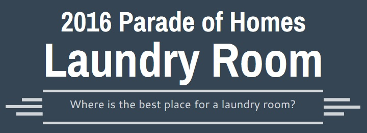 Which Floor is Best for Laundry Rooms?   NC Parade of Homes This Year