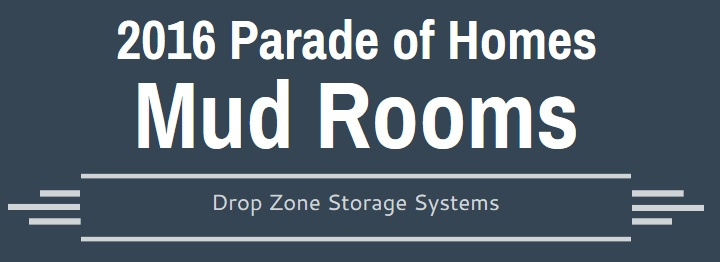 Mudrooms and Drop Zones | Triangle Parade of Homes 2016