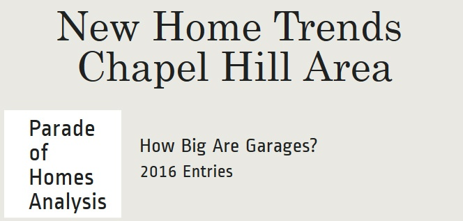 Two Car versus Three Car Garages   2016 Parade of Homes Chapel Hill