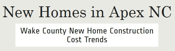 How Much Do New Homes Cost In Apex Apex New Home Builders