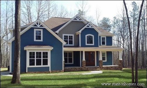 Blue Exterior Paint Colors   SW Bunglehouse Blue