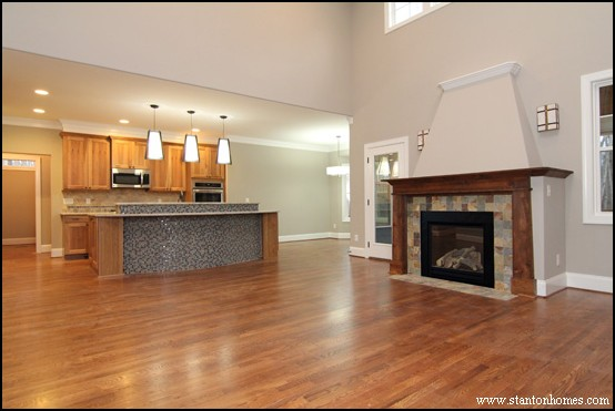Wood Fireplace Mantel Ideas   Raleigh Custom Home Builder