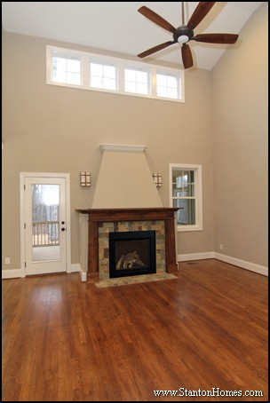 Wood Fireplace Mantel Ideas | Raleigh Custom Home Builder