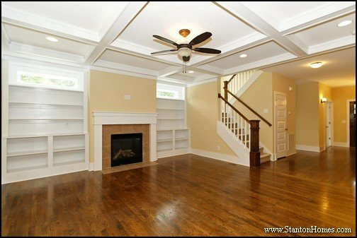 Great Room Ceiling Height   Raleigh Home Builder