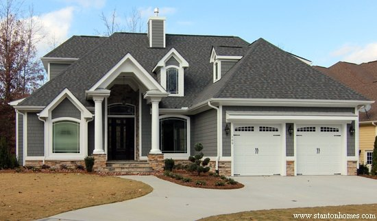 Gray Exterior Paint Colors Raleigh New Homes
