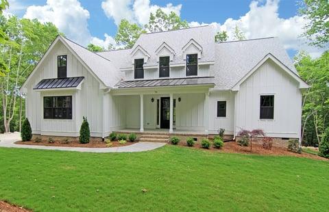 White Farmhouse New Homes