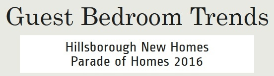 Guest Bedrooms   Chapel Hill Area New Homes