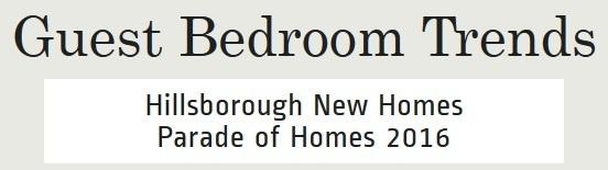 Guest Bedrooms | Chapel Hill Area New Homes