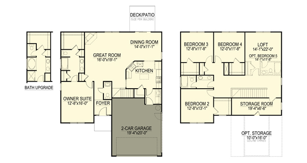 Chatham Forest floor plan