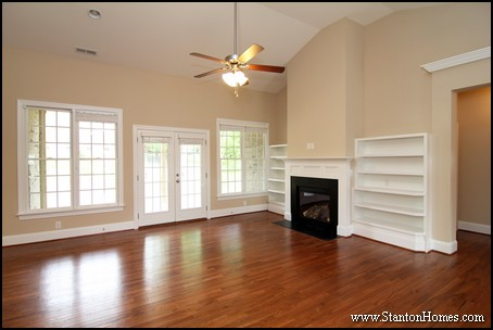 How Much Do Custom Built In Bookcases Cost Raleigh Homes
