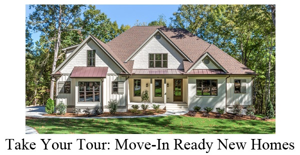 Move In Ready New Homes Near Chapel Hill NC
