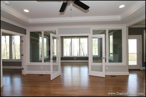 Contemporary New Home Plan | Raleigh Custom Homes