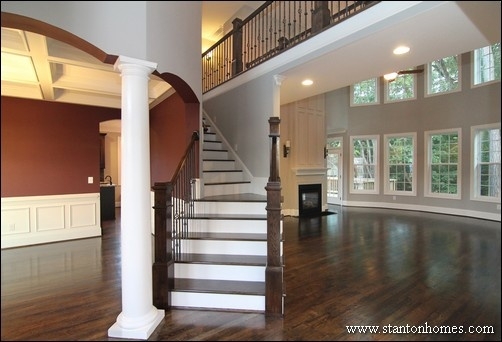 Two Story Foyer Photos | Raleigh Homebuilder