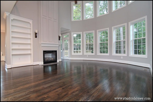Two Story Great Room   Raleigh Brick Homes