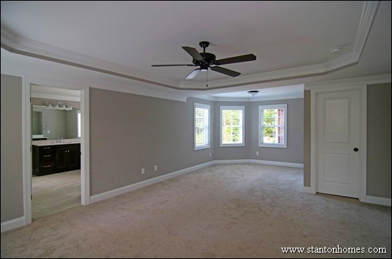 Raleigh Homes with the Laundry Room Next to the Master Closet