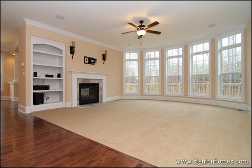 Bonus Above the Great Room | Raleigh Brick Homes