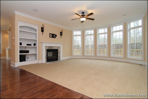 Bonus Above the Great Room | Raleigh Brick Homes