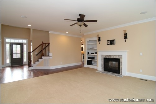 Bonus Room Above Great Room | Raleigh Brick Homes