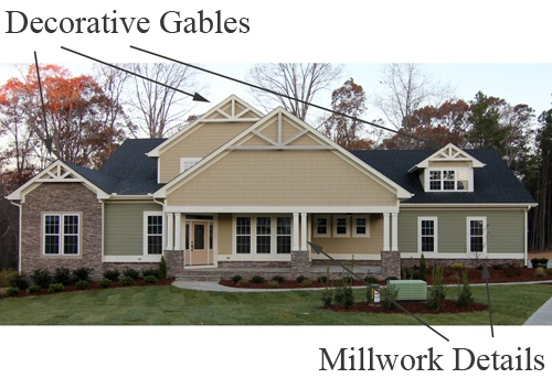 Arts and Crafts Style Houses   Craftsman Homes in NC