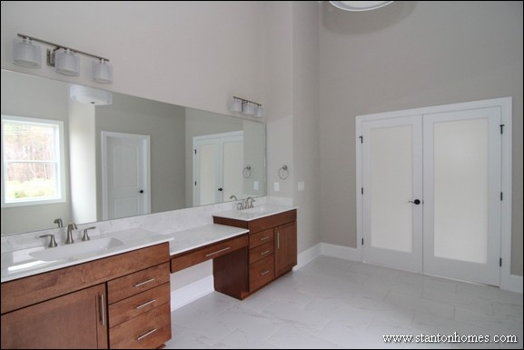 New home building and design blog home building tips for Master bathrooms without bathtubs