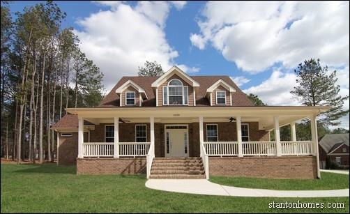 Brick Farmhouse Exterior | Farmhouse Builders Raleigh
