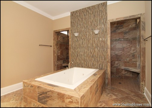 Master Bathroom Floor Plans With Walk Through Shower - Image ...