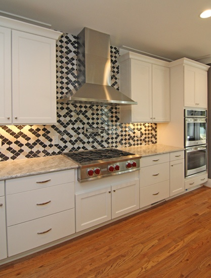 Kitchen Tile Backsplash | Custom Home Kitchen Styles | Kitchen Design Ideas