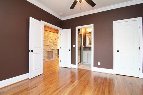 Guest Bedroom Downstairs | Apex Custom Home Builders