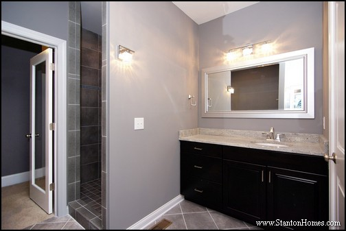 Best Grey Paint Colors 2017   SW 7667 Zircon. This Master Bathroom ...