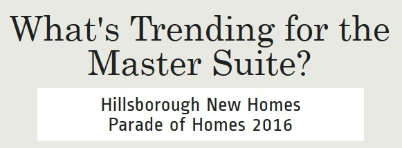 Walk In Closets for the Master Suite | Hillsborough New Homes