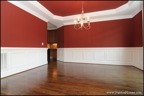Amazing Top 5 Red Paint Colors For The Dining Room | North Carolina Custom Homes