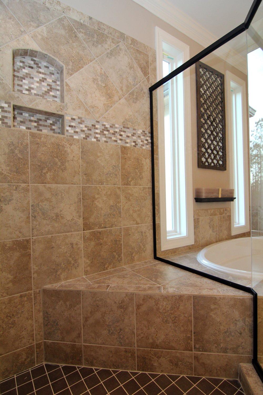 Master bath dinsmore soap nooks